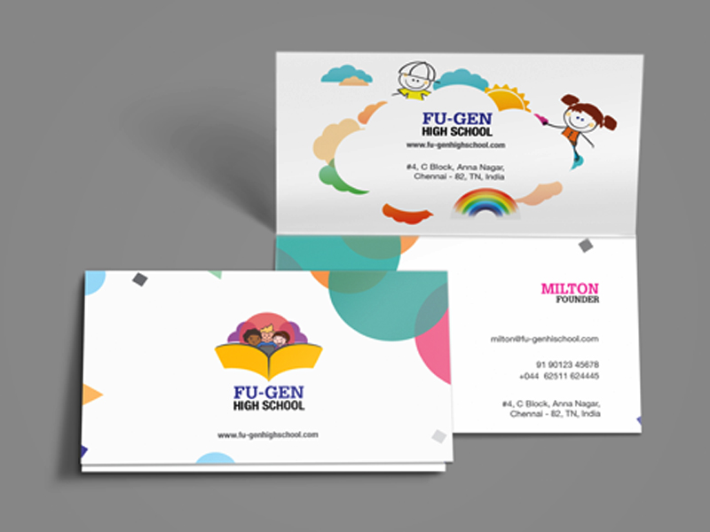 Business card design in Chennai | Custom Business cards design