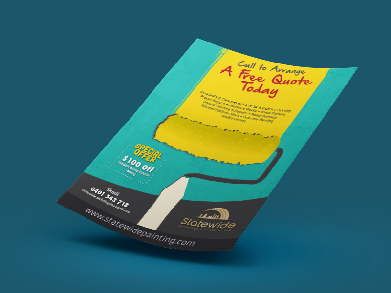 pamphlet design flyer and leaflet brochure design in chennai