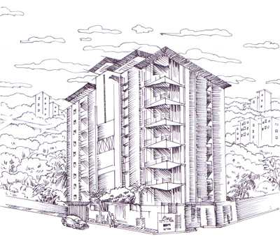 Building in Illustration