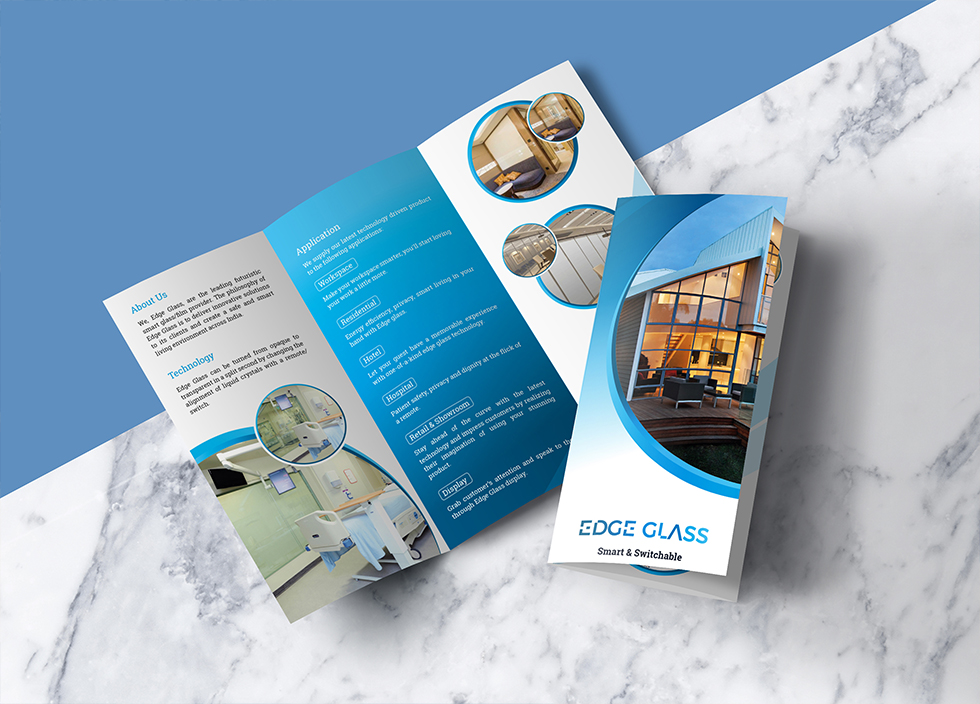 Edge Glass_Brochure Design
