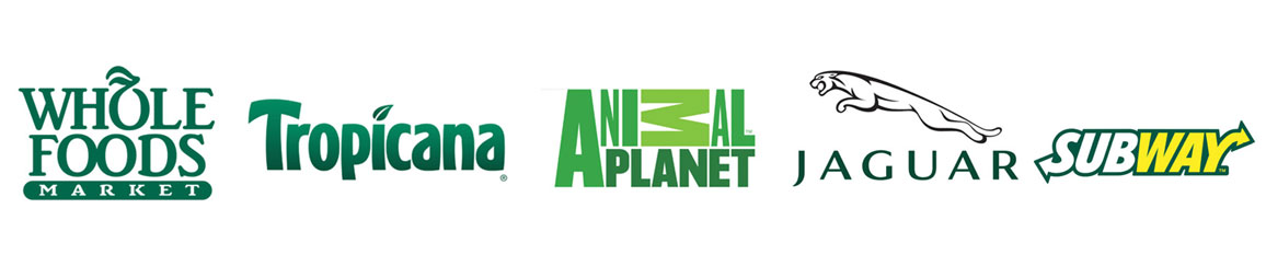 Green Color Logo Examples