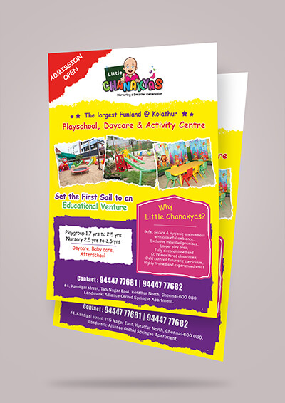 Little Chanakyas Flyer