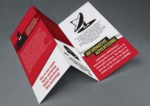 Informative Advertising Trifold Brochure