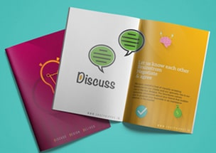 Discuss Booklet Brochure