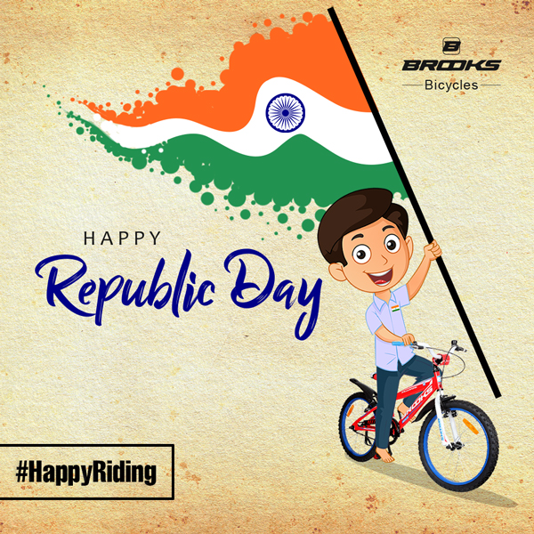 Brooks Bicycle - Republic Day