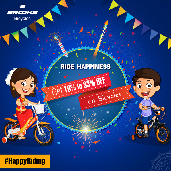 Brooks Bicycle - Diwali Facebook Creative