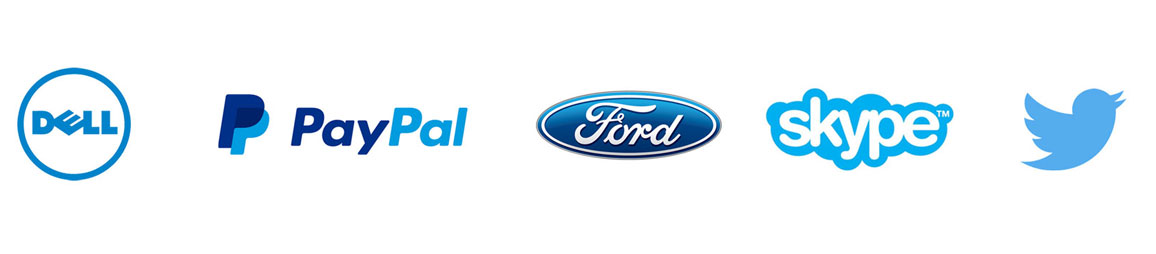 Blue Color Logo Examples