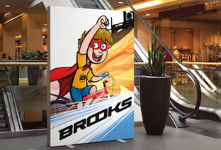 Brooks Bicycle Standee