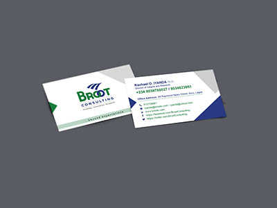 Broot Consulting Visiting Card
