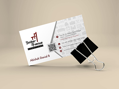 Timber Avenue Business Card