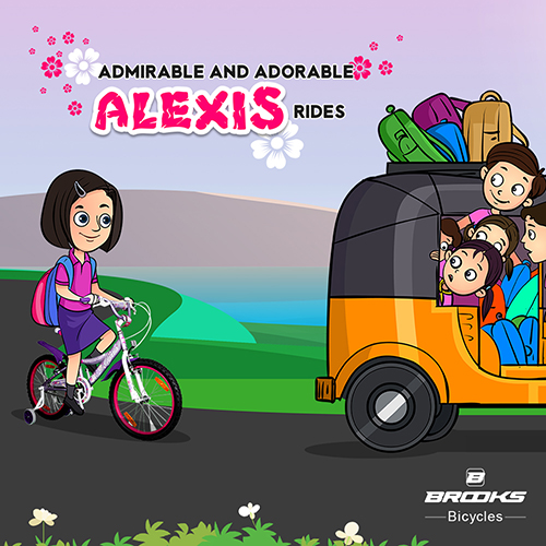 ALEXIS Brooks Bicycle FB-Creative